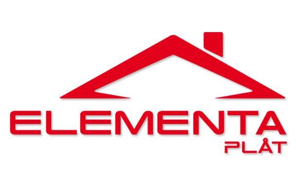 Logotype för Elementa Plåt AB